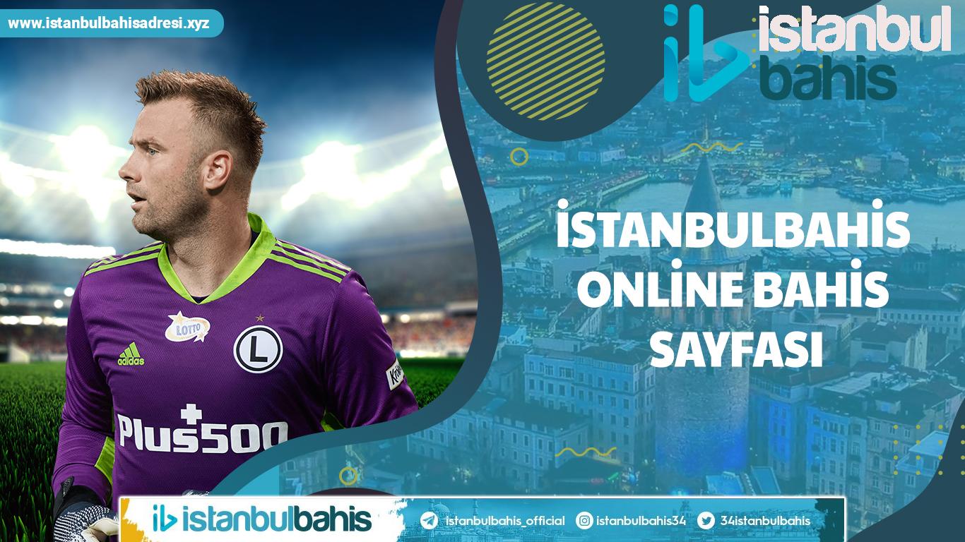 İstanbulbahis Online Bahis Sayfası